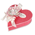Sizzix - From the Heart Collection - ScoreBoards XL Die - Box, Heart
