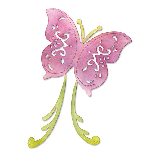 Sizzix - Botanical Sanctuary Collection -Sizzlits Die - Large - Butterfly