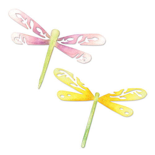 Sizzix - Botanical Sanctuary Collection -Sizzlits Die - Large - Dragonflies