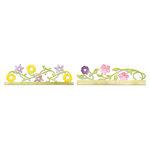 Sizzix - Botanical Sanctuary Collection - Sizzlits Decorative Strip Die - Card Edges, Flower Vines