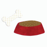 Sizzix - Bigz Die - Quilting - Dog Dish and Bone