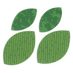 Sizzix - Bigz Die - Quilting - Die Cutting Template - Leaves, Plain 2