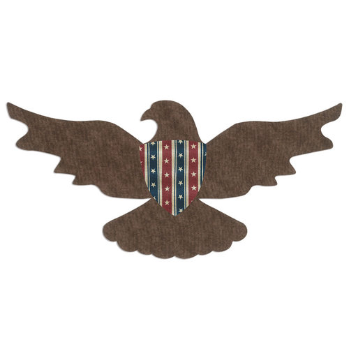 Sizzix - Bigz Pro Die - Quilting - Eagle and Shield