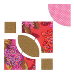 Sizzix - Bigz Pro Die - Quilting - Rose Dream, 7 Inch Assembled and Drunkard's Path, 5.5 Inch Assembled