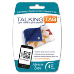Sizzix - Air Arts - Talking Tag Audio Message Labels - For Fabric - 4 Pack