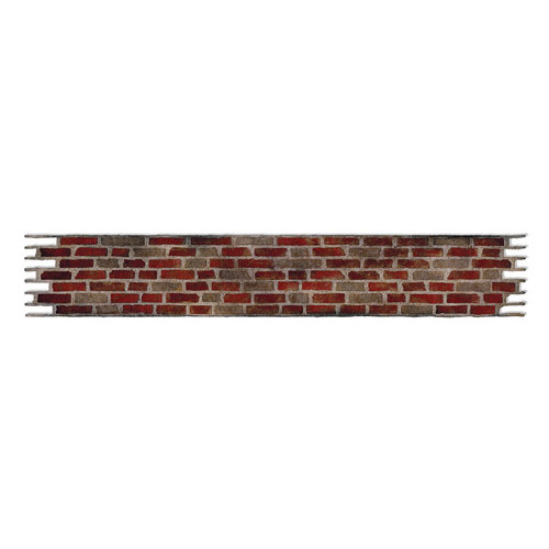 Sizzix Tim Holtz Brick Wall Sizzlits Decorative Strip Die