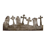 Sizzix - Tim Holtz - On the Edge Die - Alterations Collection - Die Cutting Template - Graveyard