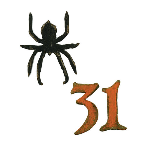 Sizzix Tim Holtz Mini Spider and 31 Movers and Shapers Die