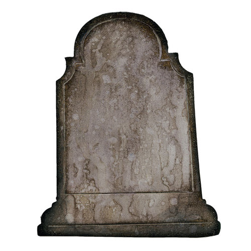 Sizzix - Tim Holtz - Movers and Shapers Die - Alterations Collection - Die Cutting Template - Headstone