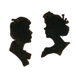 Sizzix - Tim Holtz - Alterations Collection - Movers and Shapers Large Die - Mini Silhouettes