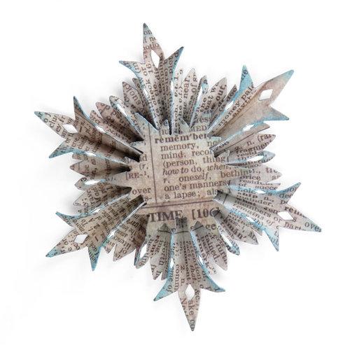 Sizzix Tim Holtz Snowflake Rosette Sizzlits Decorative Strip Die