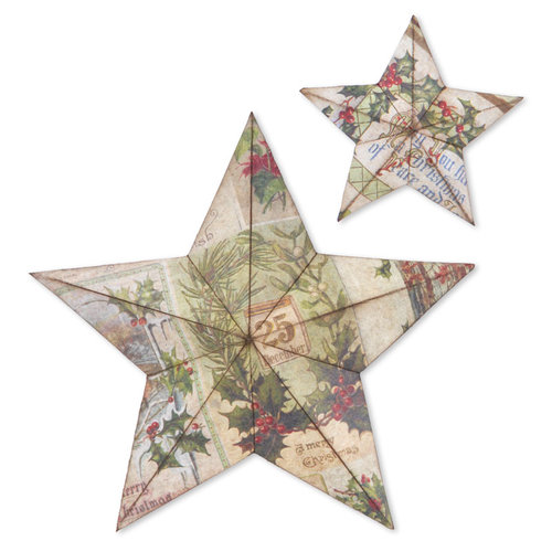 Sizzix - Tim Holtz - Alterations Collection - Bigz L Die - 3D Star Bright