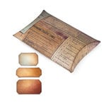 Sizzix - Tim Holtz - Movers and Shapers Die - Alterations Collection - Die Cutting Template - Large - Pillow Box with Labels