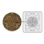 Sizzix - DecoEtch Die - Vintaj - Baroque Filigree