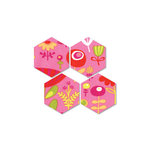 Sizzix - Bigz Die - Quilting - Die Cutting Template - Hexagons, 1.25 Inch Sides
