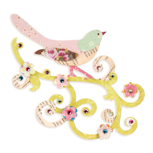 Sizzix - Bigz Die - Bird Scroll