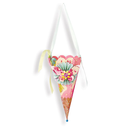 Sizzix - Bigz Die - Faceted Cone