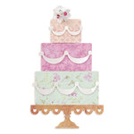 Sizzix - Bigz Die - Die Cutting Template - Layered Cake