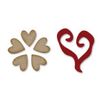 Sizzix - Movers and Shapers - Flower and Heart