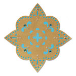 Sizzix - Moroccan Collection - Sizzlits Die - Flower, Moroccan Star