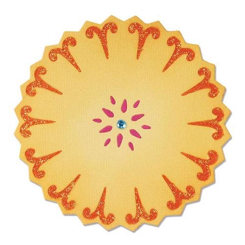 Sizzix - Moroccan Collection - Sizzlits Die - Flower, Sunflower