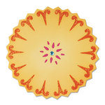 Sizzix - Moroccan Collection - Sizzlits Die - Flower, Sunflower