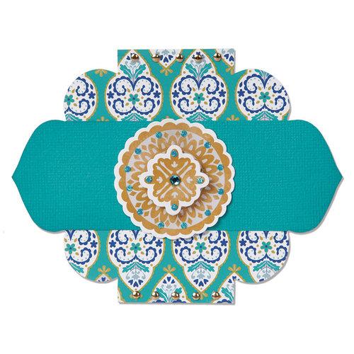 Sizzix - Moroccan Collection - Bigz Die - Label, Kasbah