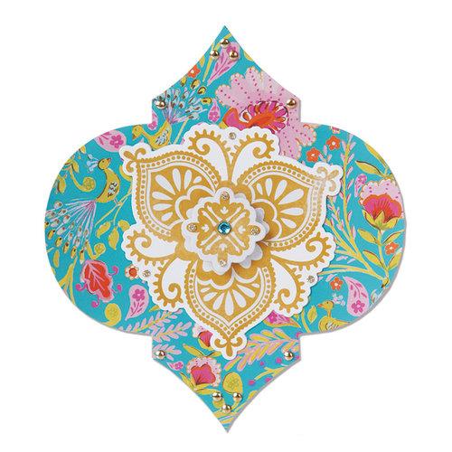 Sizzix - Moroccan Collection - Bigz Die - Label, Moorish