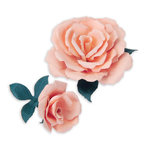 Sizzix - Susan's Garden Collection - Thinlits Die - Die Cutting Template - Flower, Rose