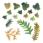 Sizzix - Susan's Garden Collection - Thinlits Die - Die Cutting Template - Leaves, Fern and Ivy