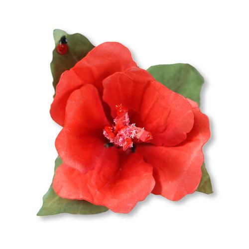 Sizzix - Susan's Garden Collection - Thinlits Die - Flower, Hibiscus