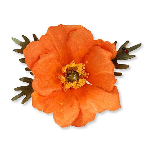 Sizzix - Susan's Garden Collection - Thinlits Die - Flower, Poppy