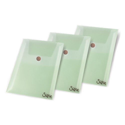 Sizzix - Susan's Garden Collection - Plastic Seed Packet Envelopes, 3 Pack