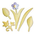 Sizzix - Bigz Die - Leaves, Bouquet
