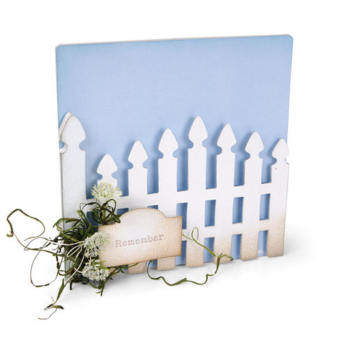 Sizzix - ScoreBoards XL Die - Album, Garden Gate