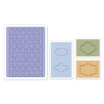 Sizzix - Textured Impressions - Embossing Folders - Jar Labels Set
