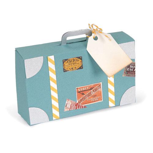 Sizzix - Bigz Pro Die - Box, Suitcase