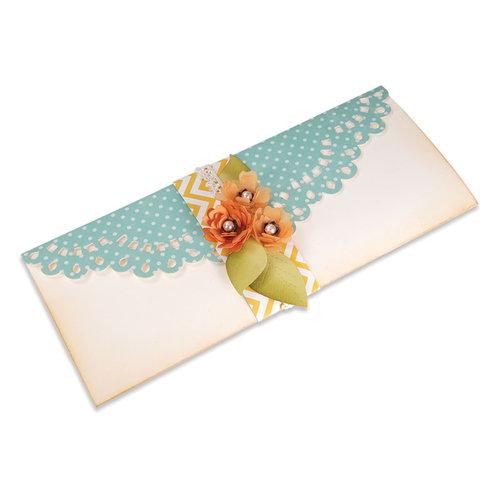 Sizzix - Bigz Pro Die - Die Cutting Template - Card, Long Decorative