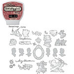Sizzix - EClips - Tim Holtz - Alterations Collection - Electronic Shape Cutting System - Cartridge - Stamp2Cut - Number 24