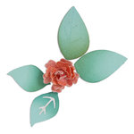 Sizzix - Sizzlits Die - Flower, Bloom with Leaves 3-D