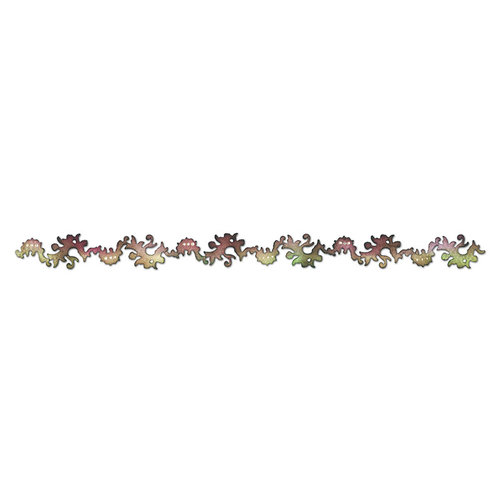 Sizzix - Prima - Sizzlits Decorative Strip Die - Bordeaux