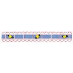 Sizzix - Sizzlits Decorative Strip Die - Ribbon Threader