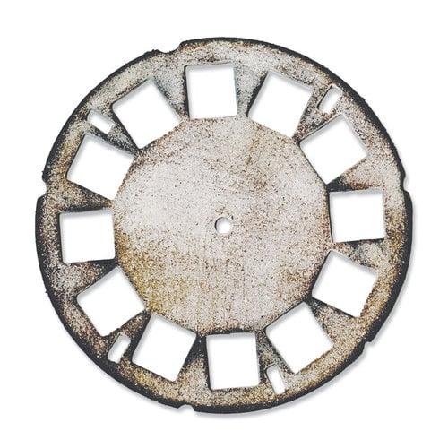 Sizzix - Tim Holtz - Alterations Collection - Bigz Die - Picture Wheel