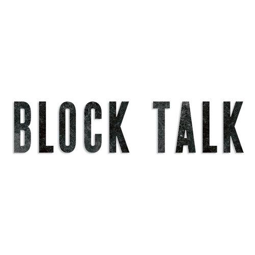 Sizzix - Tim Holtz - Alterations Collection - Bigz XL Die - Block Talk
