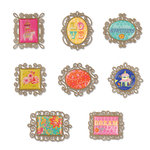 Sizzix - Embellishments - Moroccan Collection - Metal Embellishments