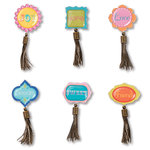 Sizzix - Embellishments - Moroccan Collection - Mini Tassel Sentiments