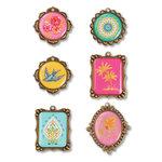 Sizzix - Embellishments - Moroccan Metal Embellishments 3