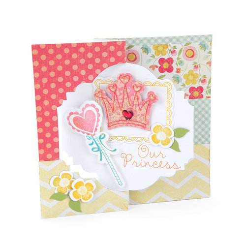 Sizzix - Movers and Shapers Die - Large - Card, Majestic Flip-its