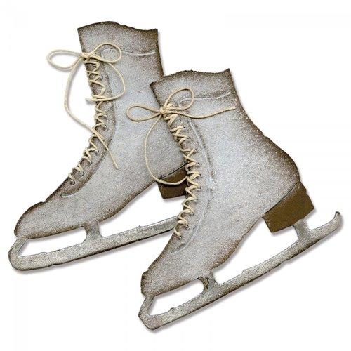 Sizzix - Tim Holtz - Alterations Collection - Bigz Die - Ice Skates