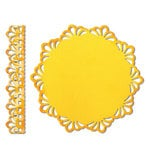 Sizzix - Thinlits Die - Die Cutting Template - Doily and Doily Border